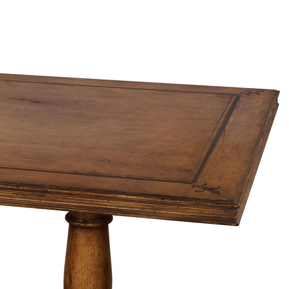 34435Oak---French-Dining-Table-Oak,-OAK-MEDIUM-DISTRESS,-163119-BV,-New2016---3