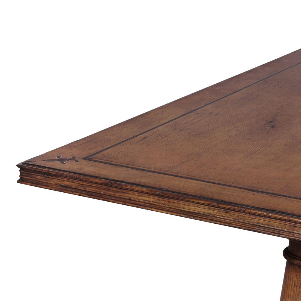 34435Oak---French-Dining-Table-Oak,-OAK-MEDIUM-DISTRESS,-163119-BV,-New2016---4