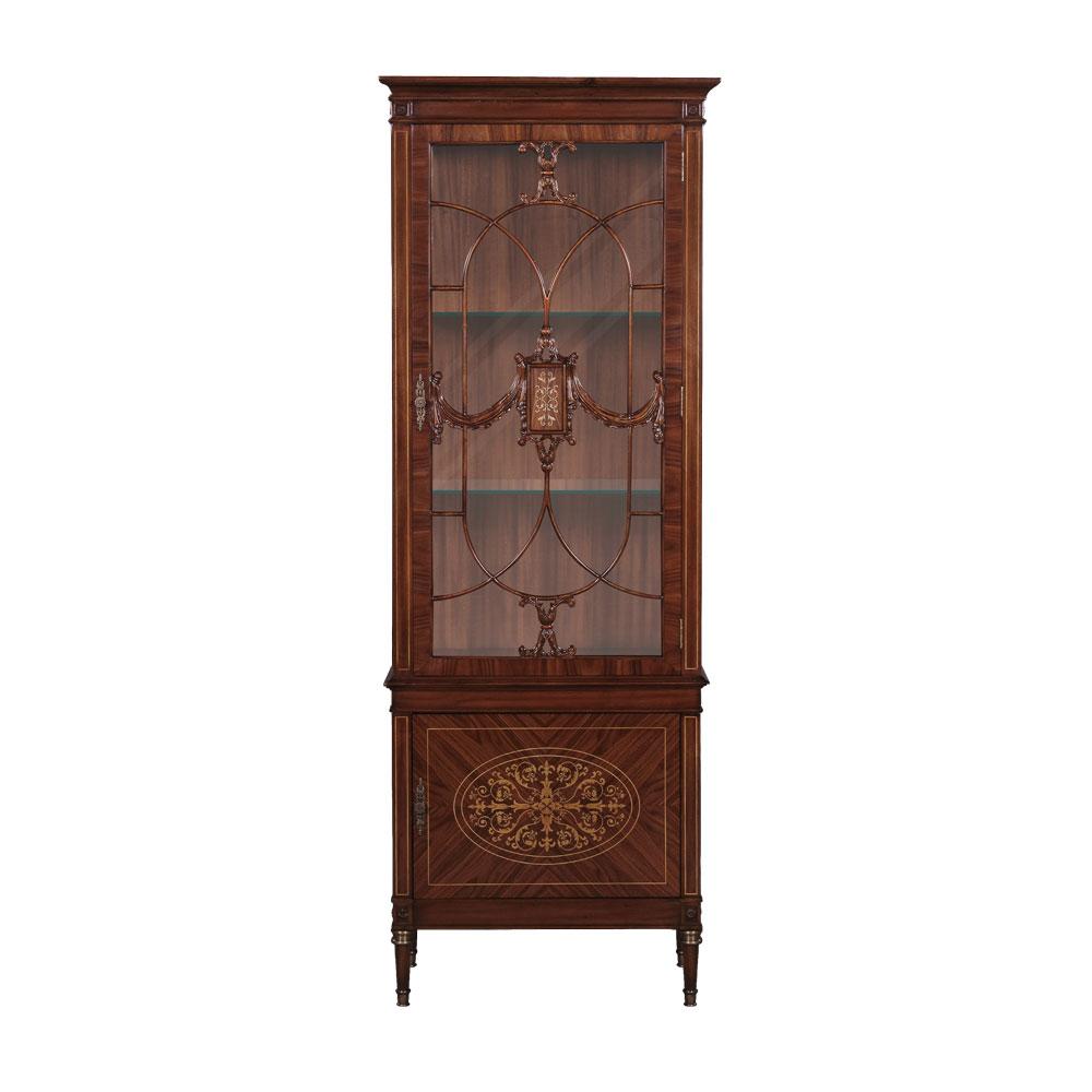 34193LED---Display-Cabinet-Parma-LED-EM--Rosewood--1