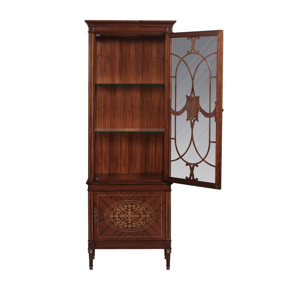 34193LED---Display-Cabinet-Parma,LED-EM-+Rosewood--2