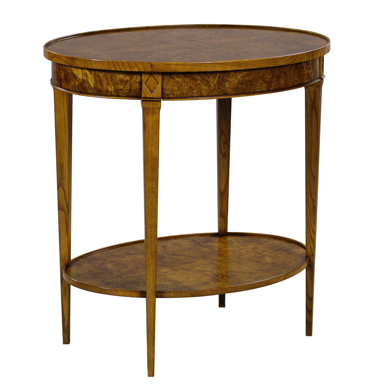 34459 - Oval Side Table Ash, ASH MEDIUM, - 2