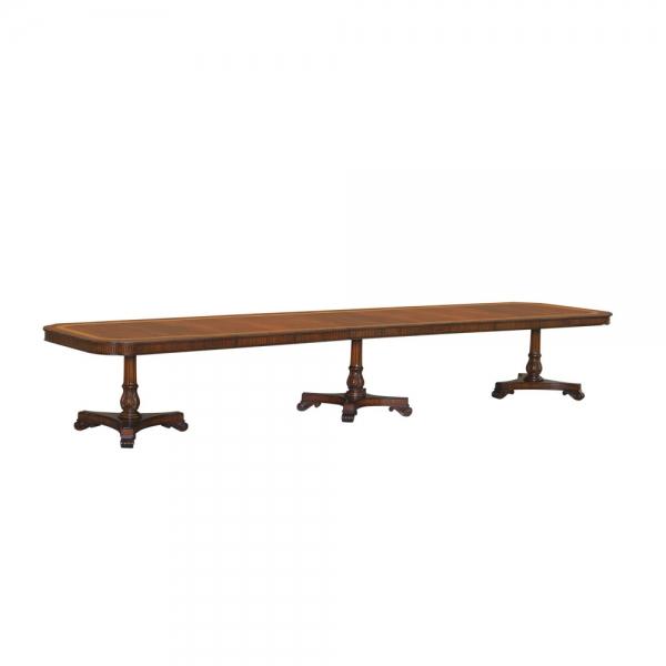 33778-Dining-Table-Mullova-312x120-4-Leav-3-Ped-EM-2