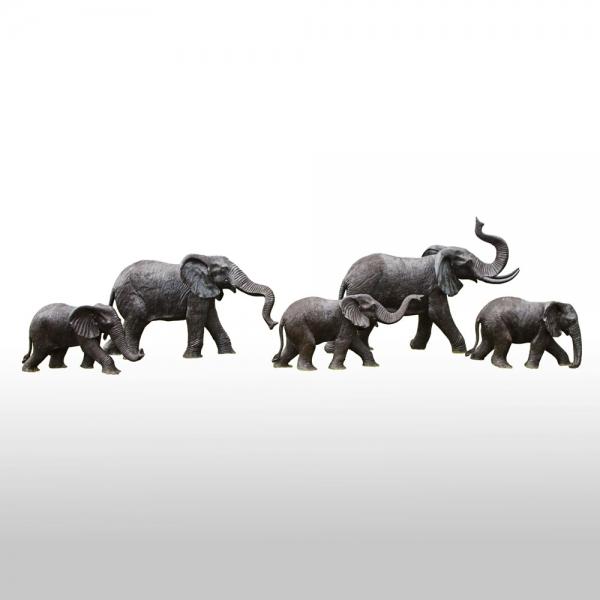 Janssen-Bronze-Elephants-A4331