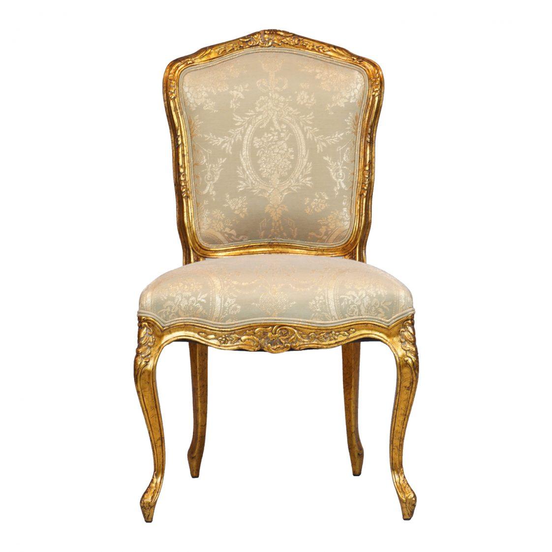 Louis Xv Side Chair Jansen Furniture