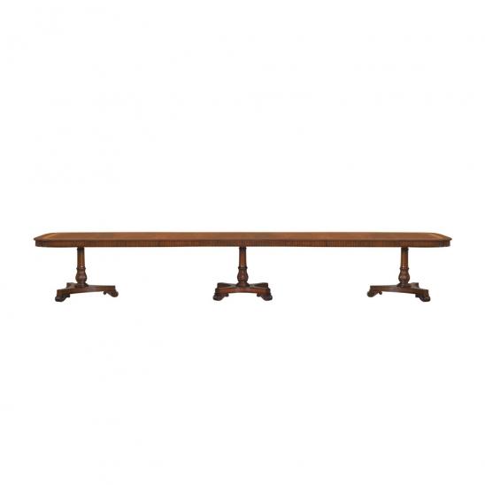 33778-Dining-Table-Mullova-312x120-4-Leav-3-Ped-EM-1