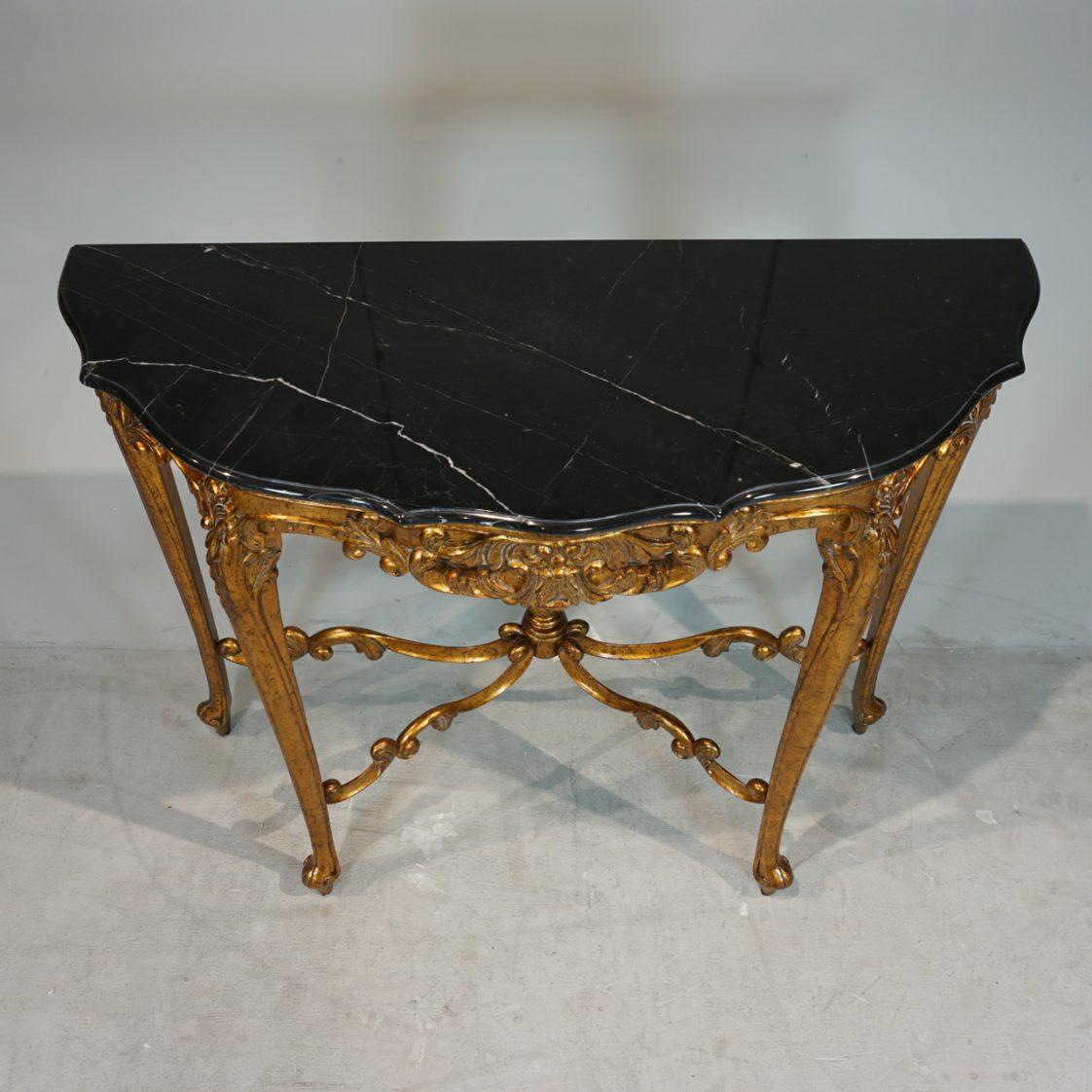 louis xv console table jansen furniture. Black Bedroom Furniture Sets. Home Design Ideas