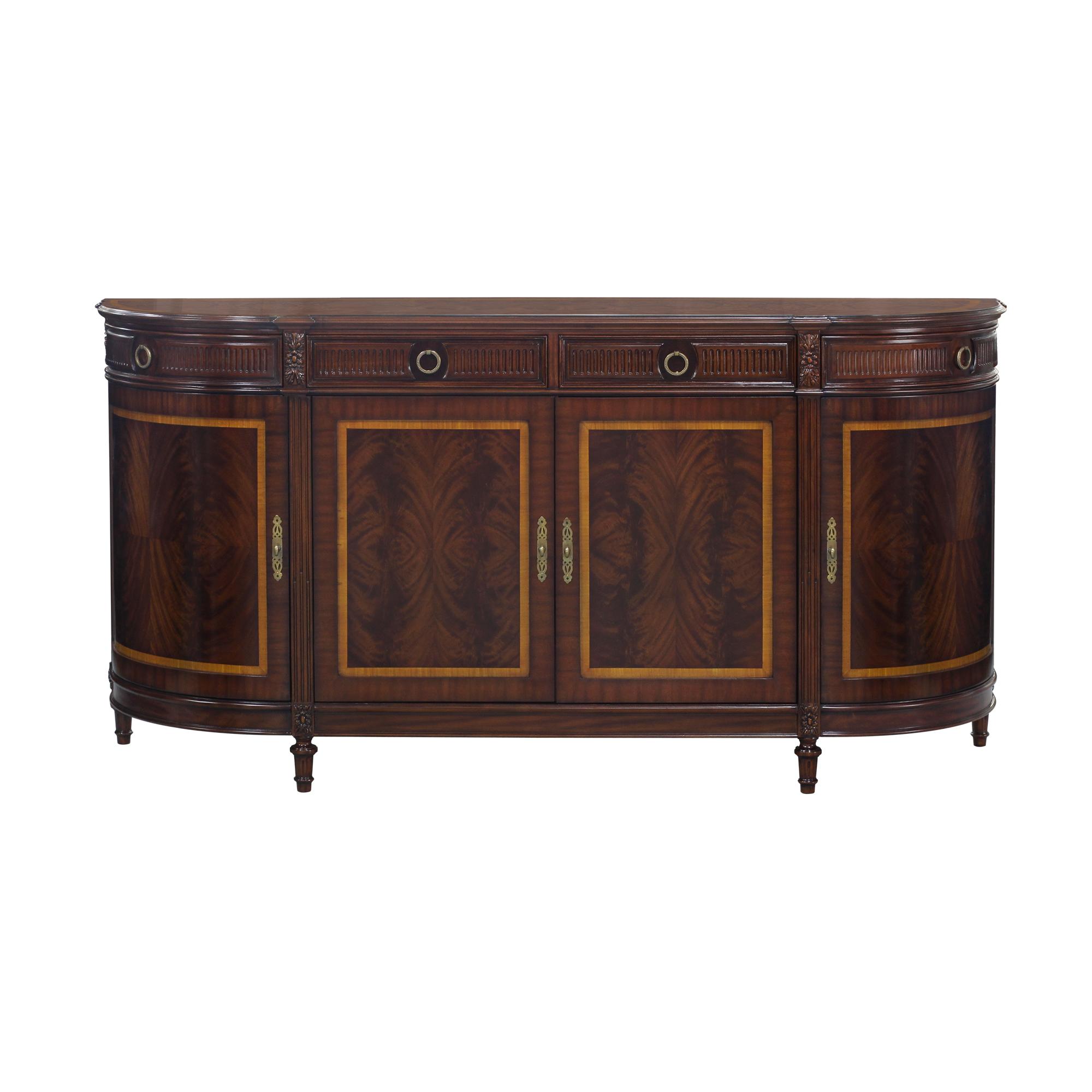 34463F---Demilune-Sideboard-Swirl,-EM-mah-wood-&-swirl-veneer,-polish-hw-(1)