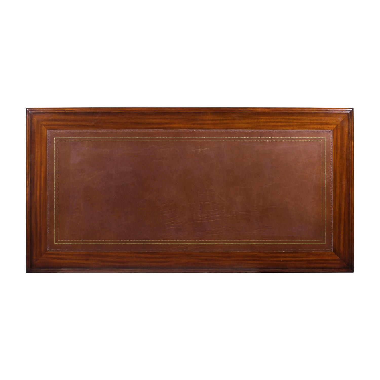 31903NA---Office-Desk,-2-Side-File-Drawers-+-Back,-SOF3534-Mahogany-Wood,-EM-+-ABRN,-193167-BV-(5)