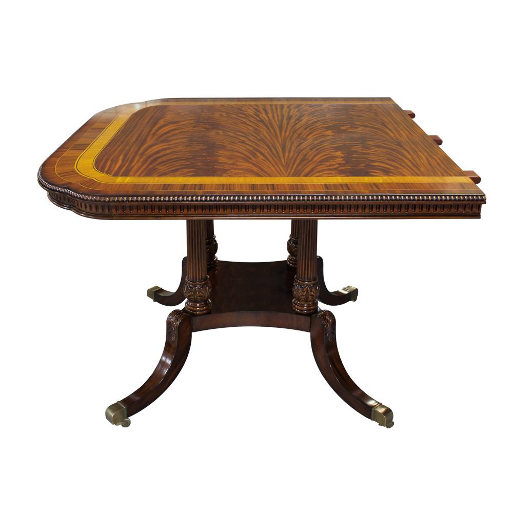 34406--Dining-Table-Berkeley-3-Ped,-2-Leave-EM,-(4)