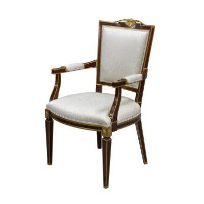 33499-1---Carved-Maitre-Arm-Chair,-EM-+-NF9--093,-(2)