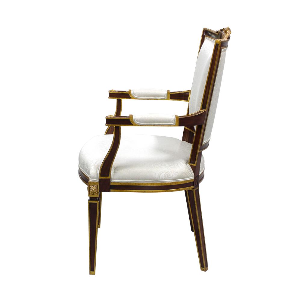 33499-1---Carved-Maitre-Arm-Chair,-EM-+-NF9--093,-(3)