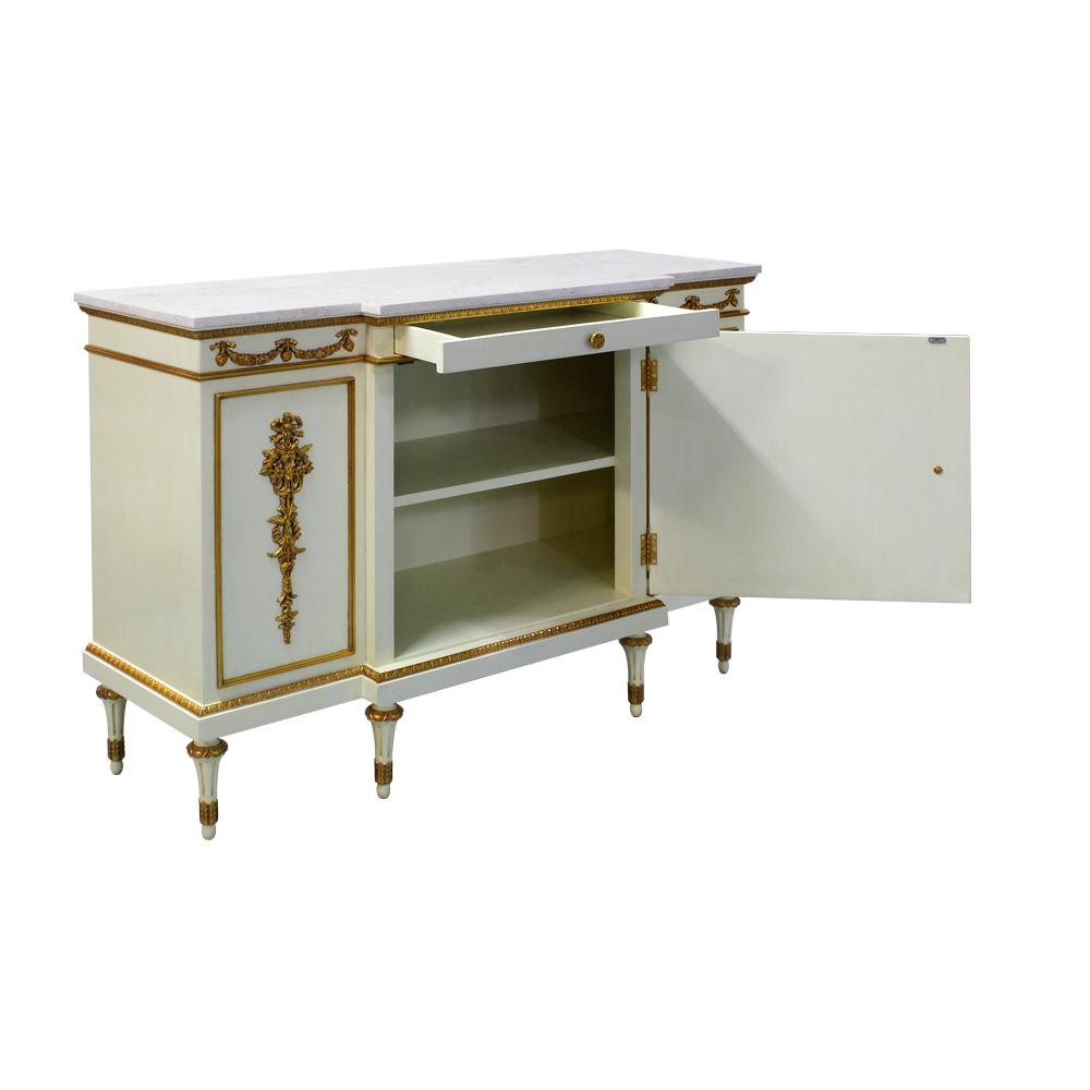 34842---Regency-Sideboard,-JWI-FGILT-+Cream-Marble-(3)