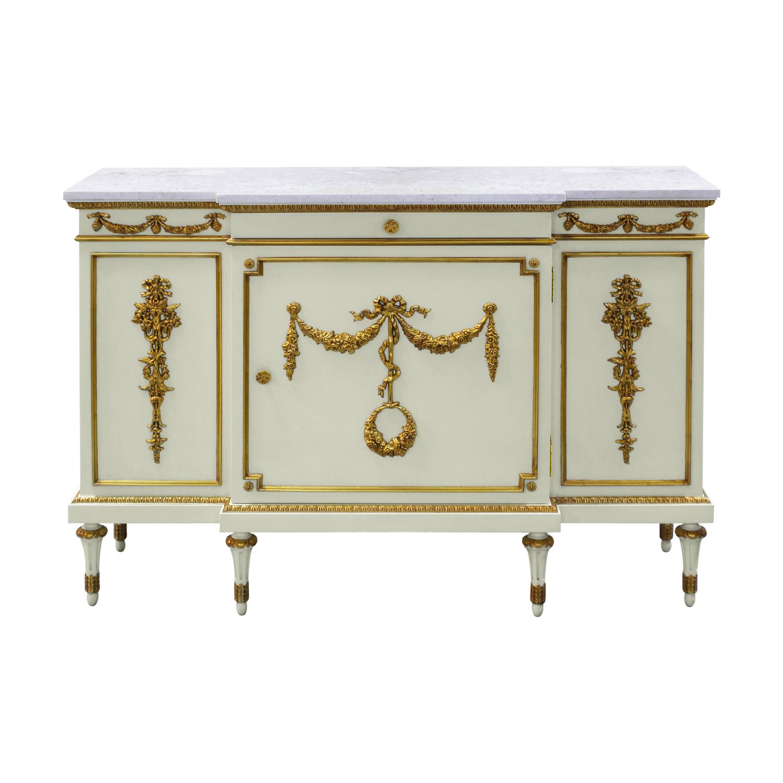 34842---Regency-Sideboard,-JWI-FGILT-+-Cream-Marble,(1)